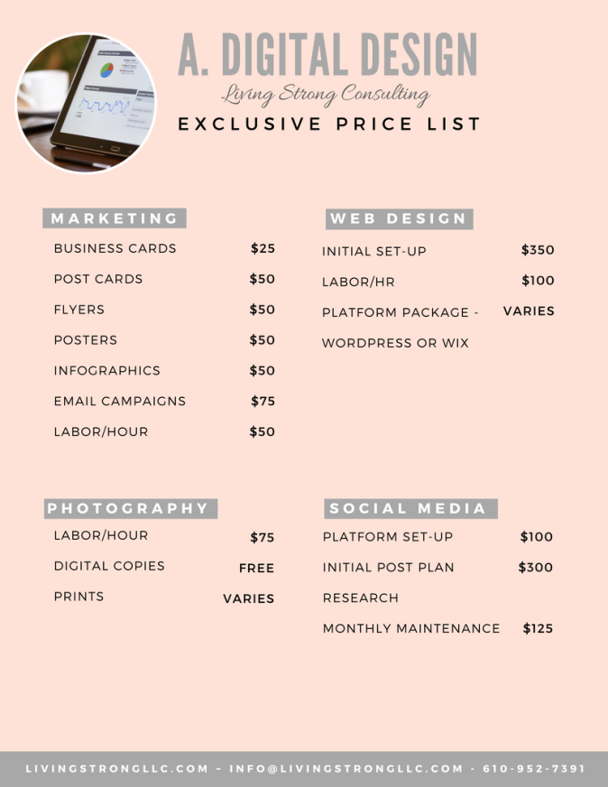 A. Digital Design Price List (1)